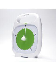 TIME TIMER PLUS 5min, 14x18cm VALGE